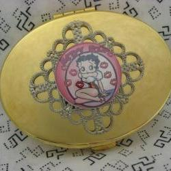 Compact Mirror Betty Boop